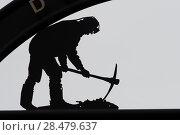 Купить «Coal miner statue in New Waterford, Cape Breton Island, Nova Scotia, Canada», фото № 28479637, снято 13 июня 2016 г. (c) Ingram Publishing / Фотобанк Лори