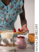Купить «Unrecognizable Woman Cooking at home. Dessert Concept. Healthy Lifestyle. Cooking At Home. Prepare Food», фото № 28483041, снято 1 декабря 2014 г. (c) Ingram Publishing / Фотобанк Лори