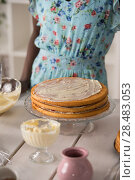 Unrecognizable Woman Cooking at home. Dessert Concept. Healthy Lifestyle. Cooking At Home. Prepare Food. Стоковое фото, фотограф Kirill Kedrinskiy / Ingram Publishing / Фотобанк Лори