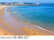 Praia dos Tres Castelos, Algarve, Portugal. (2016 год). Редакционное фото, фотограф Юрий Брыкайло / Фотобанк Лори