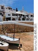 Купить «Binibequer Vell in Menorca Binibeca white village Sant Lluis at Balearic Islands», фото № 28495581, снято 28 мая 2013 г. (c) Ingram Publishing / Фотобанк Лори