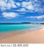 Купить «Menorca Platja de Binigaus beach Mediterranean paradise in Balearic islands», фото № 28495605, снято 30 мая 2013 г. (c) Ingram Publishing / Фотобанк Лори