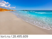 Купить «Menorca Platja de Binigaus beach Mediterranean paradise in Balearic islands», фото № 28495609, снято 30 мая 2013 г. (c) Ingram Publishing / Фотобанк Лори