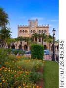 Купить «Ciutadella Menorca city Town Hall and gardens in Ciudadela at Balearic islands», фото № 28495845, снято 26 мая 2013 г. (c) Ingram Publishing / Фотобанк Лори