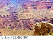 Купить «Arizona Grand Canyon National Park Yavapai Point USA», фото № 28496861, снято 13 апреля 2013 г. (c) Ingram Publishing / Фотобанк Лори