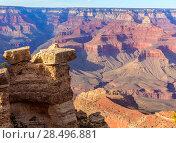Купить «Arizona Grand Canyon National Park Mother Point in USA», фото № 28496881, снято 14 апреля 2013 г. (c) Ingram Publishing / Фотобанк Лори