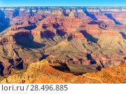 Купить «Arizona Grand Canyon National Park Mother Point in USA», фото № 28496885, снято 14 апреля 2013 г. (c) Ingram Publishing / Фотобанк Лори