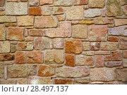 Купить «Masonry walls in Maestrazgo of Teruel aragon spain», фото № 28497137, снято 5 октября 2013 г. (c) Ingram Publishing / Фотобанк Лори