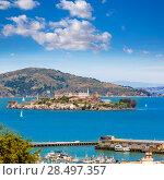 Купить «San Francisco Alcatraz Penitenciary in California USA», фото № 28497357, снято 20 апреля 2013 г. (c) Ingram Publishing / Фотобанк Лори