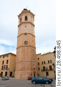 Купить «Castellon el Fadri belfry tower in Plaza Mayor square at Valencia community Spain», фото № 28498845, снято 21 апреля 2019 г. (c) Ingram Publishing / Фотобанк Лори