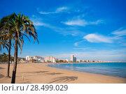 Купить «Peniscola beach in Castellon Valencian community of spain», фото № 28499029, снято 18 января 2019 г. (c) Ingram Publishing / Фотобанк Лори