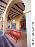 Jerica Castellon village arches in Alto Palancia of Spain Valencian Community (2013 год). Стоковое фото, фотограф Tono Balaguer / Ingram Publishing / Фотобанк Лори