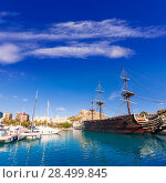 Купить «Alicante marina port boats in Mediterranean Spain Valencian Community», фото № 28499845, снято 21 января 2014 г. (c) Ingram Publishing / Фотобанк Лори