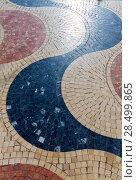 Купить «Alicante la Explanada de Espana mosaic of marble tiles flooring in Spain», фото № 28499865, снято 21 января 2014 г. (c) Ingram Publishing / Фотобанк Лори
