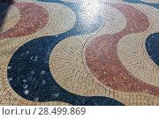 Купить «Alicante la Explanada de Espana mosaic of marble tiles flooring in Spain», фото № 28499869, снято 21 января 2014 г. (c) Ingram Publishing / Фотобанк Лори
