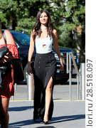 Купить «Victoria Justice visits Universal Studios to interview with Mario Lopez and Charissa Thompson for the television show 'Extra' Featuring: Victoria Justice...», фото № 28518097, снято 20 октября 2016 г. (c) age Fotostock / Фотобанк Лори