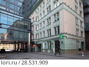 Купить «Москва, Дегтярный переулок гостиница  InterContinental», эксклюзивное фото № 28531909, снято 1 мая 2018 г. (c) Дмитрий Неумоин / Фотобанк Лори