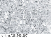 Купить «White galvanized iron plate, closeup texture», фото № 28543297, снято 8 мая 2018 г. (c) EugeneSergeev / Фотобанк Лори