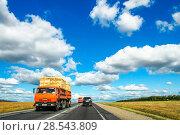 Kamaz 55102 (2010 год). Редакционное фото, фотограф Art Konovalov / Фотобанк Лори