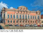 Купить «Beloselsky-Belozersky Palace, Saint Petersburg, Russia.», фото № 28543825, снято 17 июля 2018 г. (c) Boris Breytman / Фотобанк Лори
