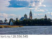 Купить «The Nilo-Stolobensky Monastery, Tver Region, Russia», фото № 28556545, снято 4 августа 2016 г. (c) photoff / Фотобанк Лори