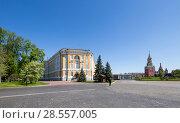 Купить «Inside of Moscow Kremlin, Russia (day)», фото № 28557005, снято 11 мая 2018 г. (c) Владимир Журавлев / Фотобанк Лори