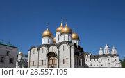 Купить «Inside of Moscow Kremlin, Russia (day)», фото № 28557105, снято 11 мая 2018 г. (c) Владимир Журавлев / Фотобанк Лори