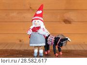 Купить «Маленькая волшебница с осликом. Авторская кукла», эксклюзивное фото № 28582617, снято 11 июня 2018 г. (c) Александр Щепин / Фотобанк Лори