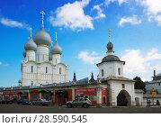 Купить «rostov kremlin complex editorial», фото № 28590545, снято 27 августа 2016 г. (c) Яков Филимонов / Фотобанк Лори