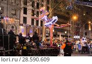 Купить «Grand parade in Barcelona», фото № 28590609, снято 5 января 2017 г. (c) Яков Филимонов / Фотобанк Лори