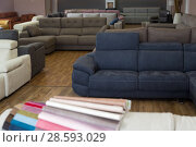 Купить «Image of new furniture options in the store», фото № 28593029, снято 19 июня 2017 г. (c) Яков Филимонов / Фотобанк Лори