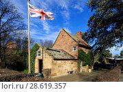 Купить «Australia, Captain Cooks' Cottage, Fitzroy Gardens, Melbourne, Victoria», фото № 28619357, снято 3 августа 2020 г. (c) age Fotostock / Фотобанк Лори