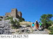 Купить «Генуэзская крепость в Судаке, Крым», фото № 28621761, снято 6 июня 2018 г. (c) Natalya Sidorova / Фотобанк Лори