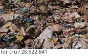 Купить «Recycling of garbage Cardboard paper production», видеоролик № 28622841, снято 14 июня 2018 г. (c) Aleksejs Bergmanis / Фотобанк Лори