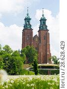 Купить «Cathedral Basilica in Gniezno», фото № 28628429, снято 11 мая 2018 г. (c) Яков Филимонов / Фотобанк Лори