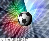 Купить «Football illustration for championship», иллюстрация № 28629657 (c) ElenArt / Фотобанк Лори