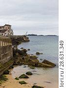 Купить «General view at Portrush bay», фото № 28631349, снято 1 июля 2017 г. (c) Ольга Марк / Фотобанк Лори