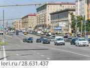 Купить «Проспект Мира. Москва», фото № 28631437, снято 31 июля 2012 г. (c) Алёшина Оксана / Фотобанк Лори