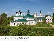 Temples of Suzdal, cityscape, Russia (2018 год). Стоковое фото, фотограф Юлия Бабкина / Фотобанк Лори