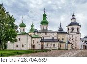 Купить «Kirillo-Belozersky Monastery, Russia», фото № 28704689, снято 14 августа 2017 г. (c) Boris Breytman / Фотобанк Лори