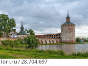Купить «Kirillo-Belozersky Monastery, Russia», фото № 28704697, снято 14 августа 2017 г. (c) Boris Breytman / Фотобанк Лори