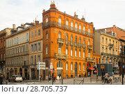 Купить «Streets of Toulouse», фото № 28705737, снято 12 мая 2017 г. (c) Яков Филимонов / Фотобанк Лори