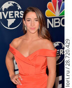 NBCUniversal's 74th Annual Golden Globes After Party Featuring: Aly Raisman Where: Beverly Hills, California, United States When: 08 Jan 2017. Редакционное фото, фотограф WENN Ltd. / age Fotostock / Фотобанк Лори