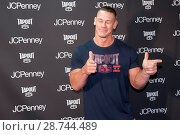 John Cena launches Tapout Fitness Gear at Tapout Fitness in partnership... (2017 год). Редакционное фото, фотограф Ivan Nikolov / WENN.com / age Fotostock / Фотобанк Лори