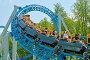 Купить «A popular attraction is the Russian roller coaster.», фото № 28752057, снято 15 июля 2018 г. (c) Александр Клопков / Фотобанк Лори