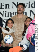 Купить «Real Madrid football player Sergio Ramos presents gifts to young children for the Real Madrid foundation Featuring: Sergio Ramos Where: Madrid, Spain When: 02 Jan 2017 Credit: Oscar Gonzalez/WENN.com», фото № 28755549, снято 2 января 2017 г. (c) age Fotostock / Фотобанк Лори