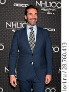 Купить «The NHL 100 Gala at Microsoft Theater - Arrivals Featuring: Jon Hamm Where: Los Angeles, California, United States When: 27 Jan 2017 Credit: Nicky Nelson/WENN.com», фото № 28760413, снято 27 января 2017 г. (c) age Fotostock / Фотобанк Лори