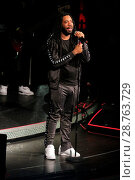 Купить «D.R.A.M. making his debut performance at Drai's nightclub in the Cromwell Hotel & Casino in Las Vegas, Nevada. Featuring: Shelley Marshaun Massenburg-Smith...», фото № 28763729, снято 28 января 2017 г. (c) age Fotostock / Фотобанк Лори
