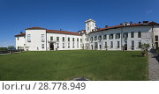 Купить «The Masino Castle, Piedmont, Italy.», фото № 28778949, снято 9 мая 2018 г. (c) age Fotostock / Фотобанк Лори