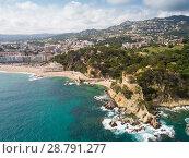 Купить «Castell d'en Plaja in Lloret de Mar», фото № 28791277, снято 28 мая 2018 г. (c) Яков Филимонов / Фотобанк Лори